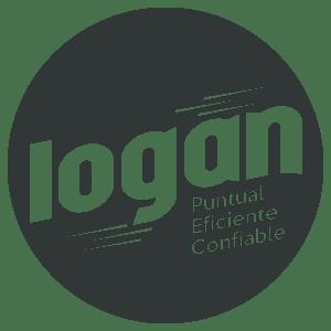LOGO LOGAN GRIS